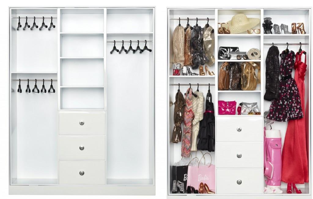2012 Y3354 - 'The Barbie Look' Wardrobe [emptyand full]]