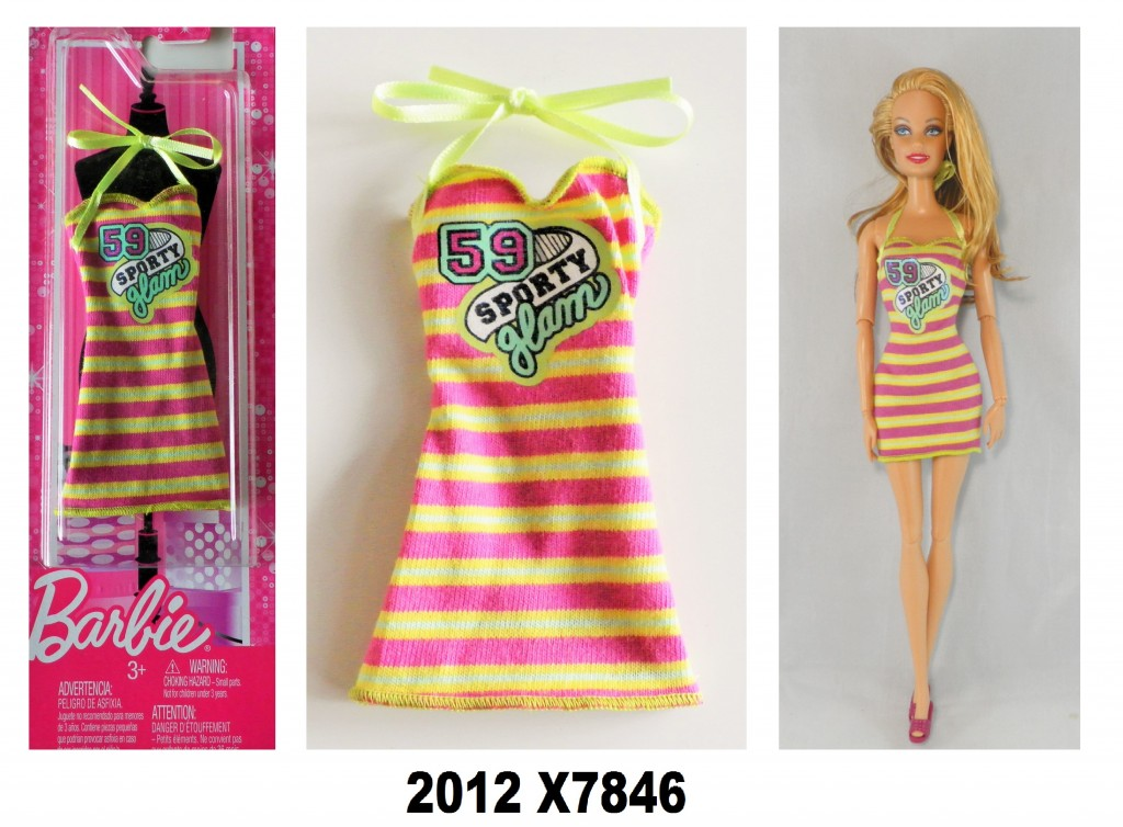 2012 X7846 Barbie Single Fashion